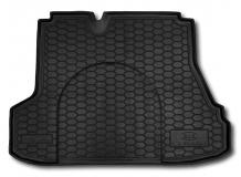 Коврик в багажник Kia Cerato I /2003-2008, Седан/. Резиновый коврик багажника Киа Церато [Avto-Gumm]
