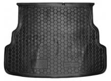 Коврик в багажник Kia Rio III /2015-2016, FL, Седан/. Резиновый коврик багажника Киа Рио [Avto-Gumm]