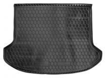 Коврик в багажник Kia Sorento II /2009-2014, 7м/. Резиновый коврик багажника Киа Соренто [Avto-Gumm]