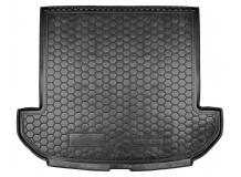 Коврик в багажник Kia Sorento III /2015+, 7м/. Резиновый коврик багажника Киа Соренто [Avto-Gumm]