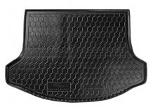 Коврик в багажник Kia Sportage III /2010-2015/. Резиновый коврик багажника Киа Спортейдж [Avto-Gumm]