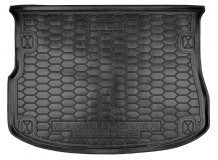 Коврик в багажник Land Rover Range Rover Evoque /2011+/. Резиновый коврик багажника Рендж Ровер Эвок [Avto-Gumm]