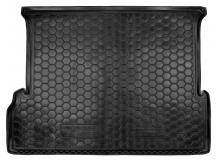 Коврик в багажник Lexus GX460 /7м, 2009+/. Резиновый коврик багажника Лексус ЖХ460 [Avto-Gumm]