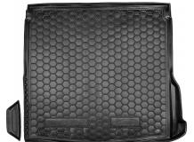 Коврик в багажник Mazda 3 III /Седан, 2013+/. Резиновый коврик багажника Мазда 3 [Avto-Gumm]