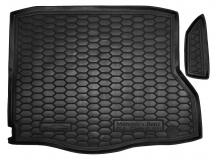 Коврик в багажник Mercedes CLA (C117) /2013+/. Резиновый коврик багажника Мерседес ЦЛА-класс [Avto-Gumm]