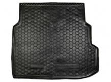 Коврик в багажник Mercedes E (W211) /2002-2009, Седан/. Резиновый коврик багажника Мерседес Е-класс [Avto-Gumm]