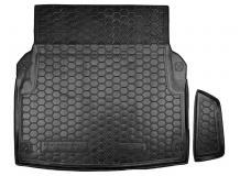Коврик в багажник Mercedes E (W212) /2009-2016, Седан/. Резиновый коврик багажника Мерседес Е-класс [Avto-Gumm]