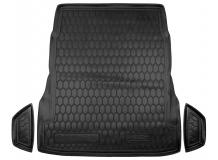 Коврик в багажник Mercedes S (W222) /2013+, без рег. сидений/. Резиновый коврик багажника Мерседес С-класс [Avto-Gumm]