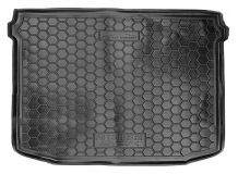 Коврик в багажник Mitsubishi ASX /2010+/. Резиновый коврик багажника Мицубиси АСХ [Avto-Gumm]