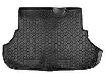 Коврик в багажник Mitsubishi Lancer X /Седан, 2007+/. Резиновый коврик багажника Мицубиси Лансер 10 [Avto-Gumm]