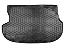 Коврик в багажник Mitsubishi Outlander I /2001-2008/. Резиновый коврик багажника Мицубиси Аутлендер [Avto-Gumm]