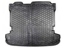 Коврик в багажник Mitsubishi Pajero IV /2006-2014, 7м/. Резиновый коврик багажника Мицубиси Паджеро [Avto-Gumm]