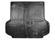 Коврик в багажник Mitsubishi Pajero Sport II /2008-2015/. Резиновый коврик багажника Мицубиси Паджеро Спорт [Avto-Gumm]