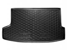Коврик в багажник Nissan Juke /FL, верх. полка, 2014+/. Резиновый коврик багажника Ниссан Джук [Avto-Gumm]