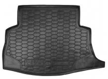 Коврик в багажник Nissan Leaf /2012+/. Резиновый коврик багажника Ниссан Лиф [Avto-Gumm]