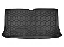 Коврик в багажник Nissan Micra K12 /2003-2010/. Резиновый коврик багажника Ниссан Микра [Avto-Gumm]