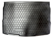 Коврик в багажник Nissan Qashqai II /2014+/. Резиновый коврик багажника Ниссан Кашкай [Avto-Gumm]