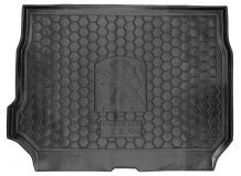 Коврик в багажник Peugeot 2008 /2013+/. Резиновый коврик багажника Пежо 2008 [Avto-Gumm]