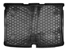 Коврик в багажник Peugeot Bipper /2008+/. Резиновый коврик багажника Пежо Биппер [Avto-Gumm]