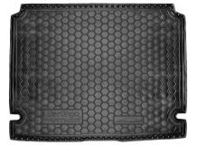 Коврик в багажник Peugeot Partner II /2008-2018/. Резиновый коврик багажника Пежо Партнер [Avto-Gumm]