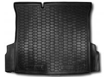 Коврик в багажник Ravon R4 /2016+, Седан/. Резиновый коврик багажника Равон Р4 [Avto-Gumm]