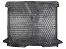 Коврик в багажник Renault Dokker /2012+/. Резиновый коврик багажника Рено Доккер [Avto-Gumm]