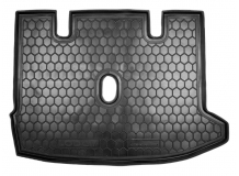 Коврик в багажник Renault Lodgy /2012+/. Резиновый коврик багажника Рено Лодги [Avto-Gumm]