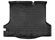 Коврик в багажник Renault Logan II /2013+/. Резиновый коврик багажника Рено Логан [Avto-Gumm]