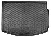 Коврик в багажник Renault Megane III /Хэтчбек, 2008-2015/. Резиновый коврик багажника Рено Меган [Avto-Gumm]