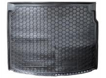 Коврик в багажник Renault Megane III /Универсал, 2008-2015/. Резиновый коврик багажника Рено Меган [Avto-Gumm]