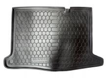 Коврик в багажник Renault Sandero II /2013+/. Резиновый коврик багажника Рено Сандеро [Avto-Gumm]
