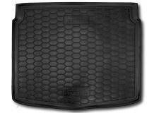 Коврик в багажник Seat Altea /2004-2015, нижняя полка/. Резиновый коврик багажника Сеат Альтеа [Avto-Gumm]