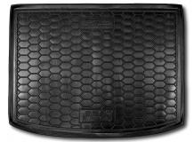 Коврик в багажник Seat Altea /2004-2015, верхняя полка/. Резиновый коврик багажника Сеат Альтеа [Avto-Gumm]