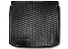 Коврик в багажник Seat Altea XL /2006-2015, нижняя полка/. Резиновый коврик багажника Сеат Альтеа XL [Avto-Gumm]