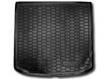 Коврик в багажник Seat Altea XL /2006-2015, верхняя полка/. Резиновый коврик багажника Сеат Альтеа XL [Avto-Gumm]