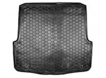 Коврик в багажник Skoda Octavia A5 /Универсал, 2004-2013/. Резиновый коврик багажника Шкода Октавия А5 [Avto-Gumm]