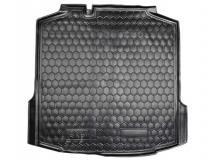 Коврик в багажник Skoda Rapid /Лифтбек, 2012+/. Резиновый коврик багажника Шкода Рапид [Avto-Gumm]