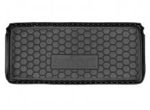 Коврик в багажник Smart Fortwo (450) /1998-2007/. Резиновый коврик багажника Смарт Форту [Avto-Gumm]