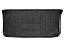 Коврик в багажник Smart Fortwo (451) /2007-2014/. Резиновый коврик багажника Смарт Форту [Avto-Gumm]
