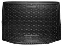 Коврик в багажник Subaru XV /2011+/. Резиновый коврик багажника Субару ХВ [Avto-Gumm]
