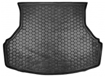 Коврик в багажник Lada Granta (2190) /без шумоизол., 2011+/. Резиновый коврик багажника Лада Гранта [Avto-Gumm]