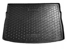 Коврик в багажник Volkswagen Golf VII /Хэтчбек, 2012+/. Резиновый коврик багажника Фольксваген Гольф 7 [Avto-Gumm]