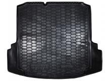Коврик в багажник Volkswagen Jetta VI /без органайз., 2010+/. Резиновый коврик багажника Фольксваген Джетта [Avto-Gumm]