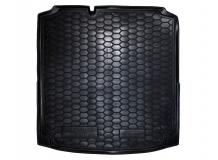 Коврик в багажник Volkswagen Jetta VI /с органайз., 2010+/. Резиновый коврик багажника Фольксваген Джетта [Avto-Gumm]