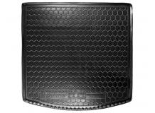 Коврик в багажник Volkswagen Touran II /2010-2015/. Резиновый коврик багажника Фольксваген Туран [Avto-Gumm]