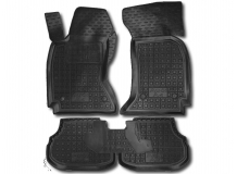 Коврики в салон Audi A4 (B5) /1994-2001/. Резиновые коврики салона Ауди А4 [Avto-Gumm]