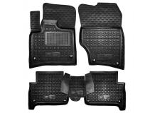 Коврики в салон Audi Q7 (4L) /2005-2015/. Резиновые коврики салона Ауди Q7 [Avto-Gumm]