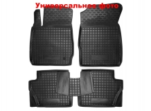 Коврики в салон Peugeot 308 II /2013+, Хэтчбек/. Резиновые коврики салона Пежо 308 [Avto-Gumm]