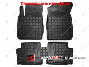 Коврики в салон Mercedes GL (X164) /2007-2012/. Резиновые коврики салона Мерседес ГЛ-класс [Avto-Gumm]