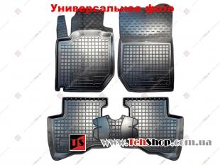 Коврики в салон Hyundai i10 II /2013+/. Резиновые коврики салона Хюндай i10 [Avto-Gumm]